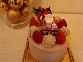 クリスマス生チョコ
