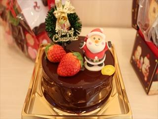 クリスマスムースオショコラ